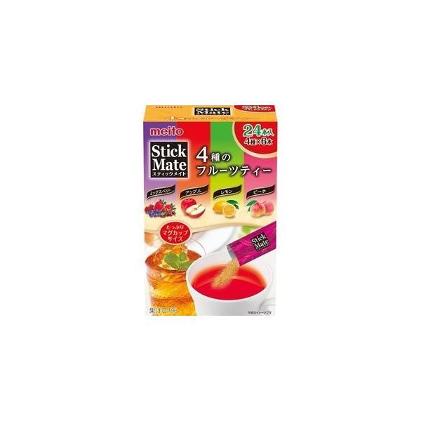 名糖 スティックメイト 4種のフルーツティー ( 24包 )