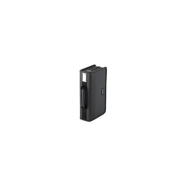 エレコム  CD/DVDファスナーケース ブラック CCD-SS96BK (96枚収納)