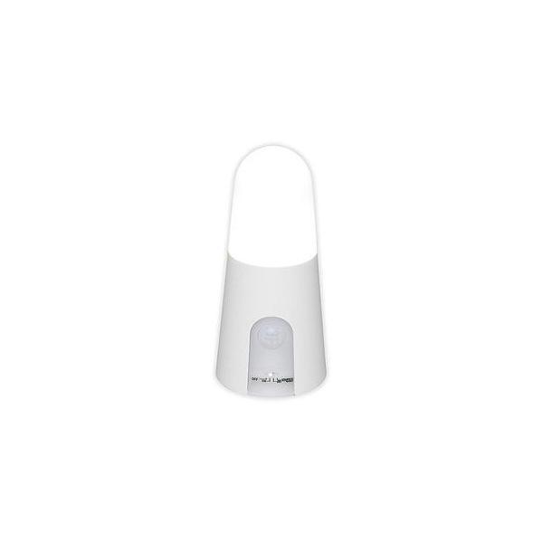 アイリスオーヤマ  乾電池式屋内センサーライト スタンドタイプ 昼白色 (ホワイト) BSL40SN-W