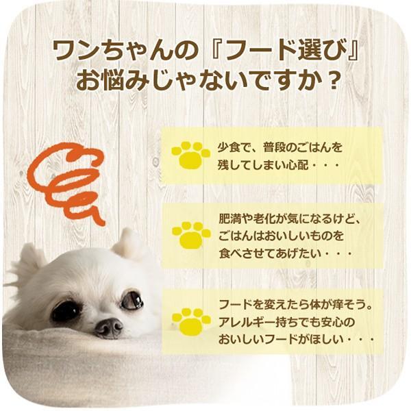 ドッグフード お試し 国産 無添加  PET-SPA オリジナルフード 選べるお試しセット 送料無料|petspa|06