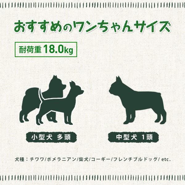 ピッコロカーネ ベーネ BENE 多頭 中型犬用 (〜18kg) ペットカート 軽量 折りたたみタイプ 送料無料 3つの特典付き petspa 12