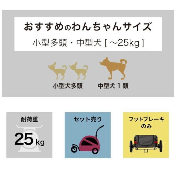 エアバギー ペット 中型犬 多頭 大型犬用 キューブシリーズ トゥインクル (〜25kg)送料無料 petspa 04