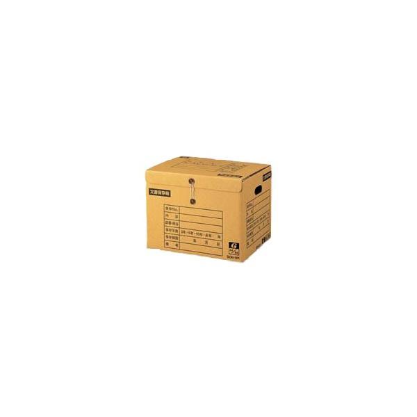 (まとめ) ゼネラル イージーストックケース 段ボール製 文書保存箱 SCH-101 1個入 〔×5セット〕