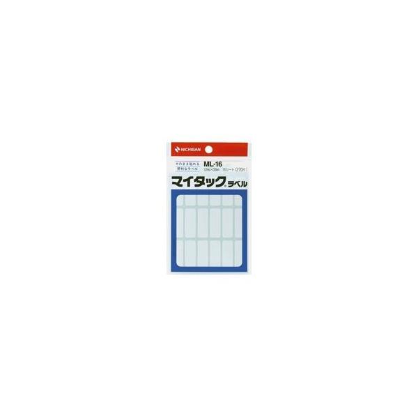 (業務用200セット) ニチバン ラベルシール/マイタック ラベル 〔白無地/一般〕 ML-16