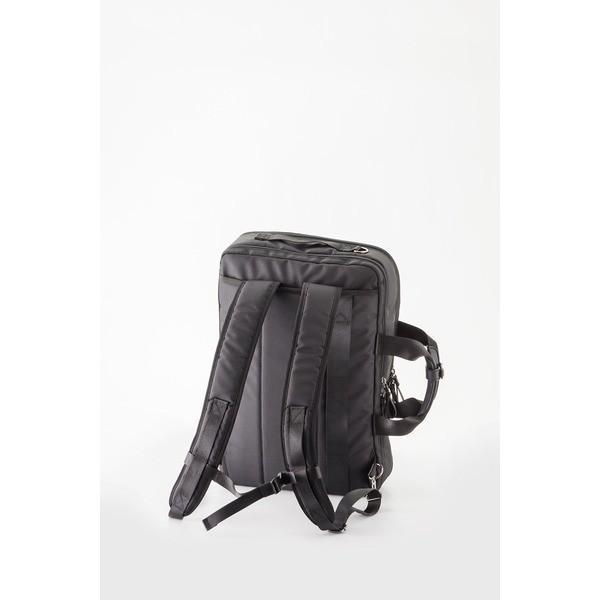ビジネスバッグ/3WAYバッグ 〔ブラック〕 H45×W30×D10cm B4サイズ