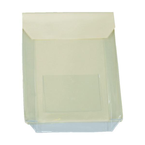 (まとめ)TRUSCO 通い袋 マチ付 クリームTKM3037-CR 1個 〔×3セット〕