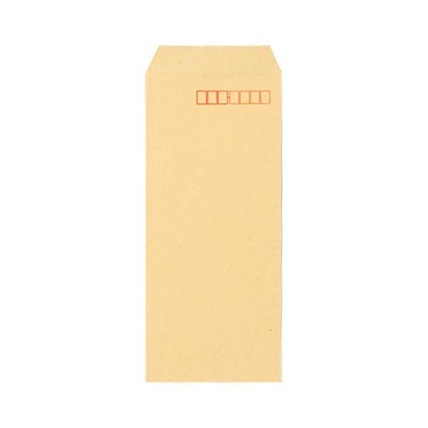 (まとめ) 寿堂 FSCクラフト封筒 長4 70g/m2 〒枠あり 業務用パック 580 1箱(1000枚) 〔×10セット〕