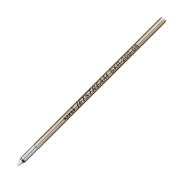 (まとめ) 三菱鉛筆 油性ボールペン替芯 0.5mm青 ジェットストリーム プライム用 SXR20005.33 1本 〔×50セット〕