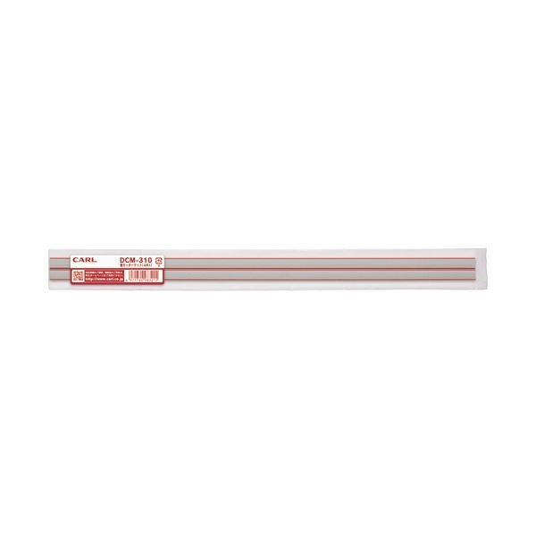 (まとめ)カール事務器 ディスクカッター専用替カッターマット A4用 DCM-310 1パック(4枚)〔×5セット〕