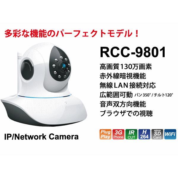 IPネットワークカメラ RCC−9801|petyafuupro