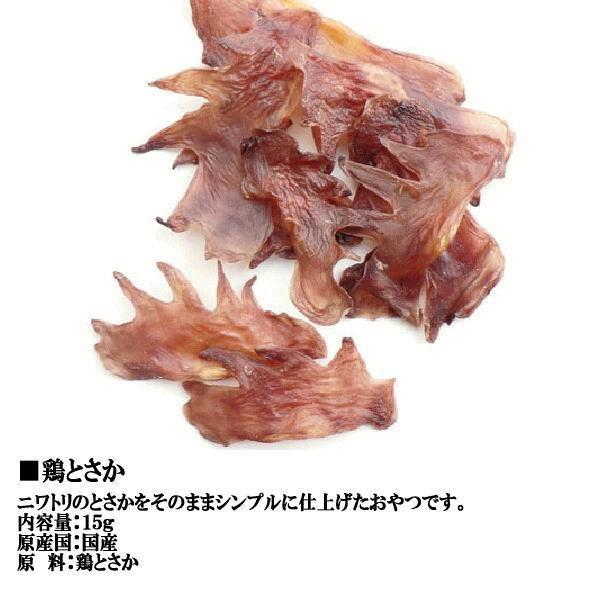 【送料無料】七面鳥アキレス・鶏とさかお試しセット  国産 無添加 無着色 犬用|petyafuupro|03