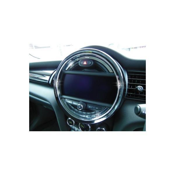 BMW MINI F56 センターメータートリム (クローム) ミニ 内装パーツ|peyton