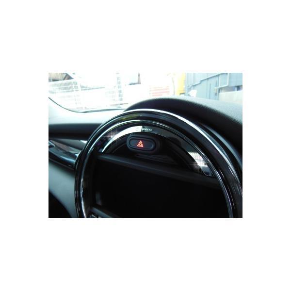 BMW MINI F56 センターメータートリム (クローム) ミニ 内装パーツ|peyton|02