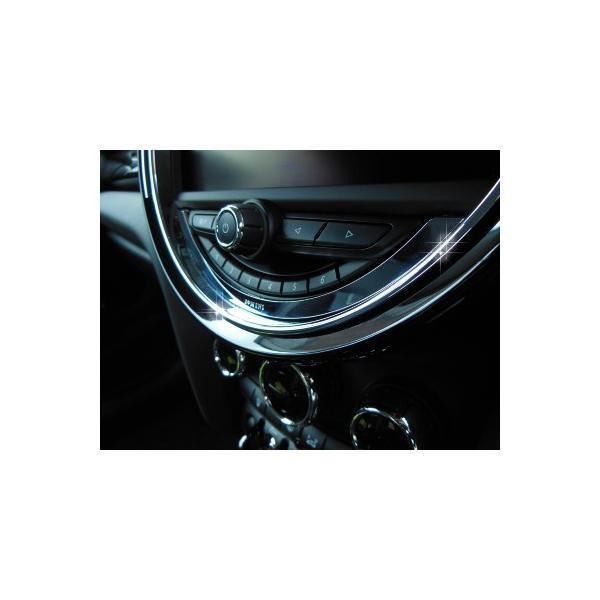 BMW MINI F56 センターメータートリム (クローム) ミニ 内装パーツ|peyton|03