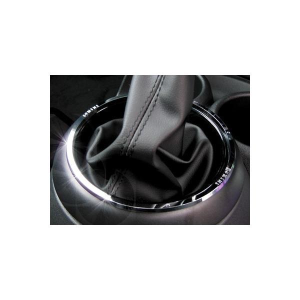 BMW MINI F56 シフトリング (クローム) ミニ 内装パーツ|peyton