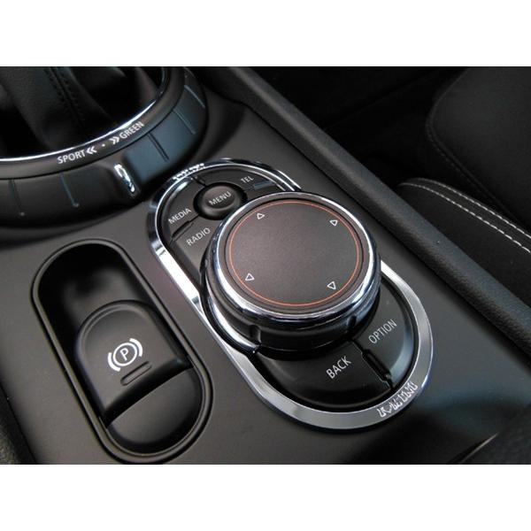 BMW MINI F54 ナビコントロールスイッチトリム (クローム) ミニクーパー クラブマン 内装パーツ|peyton