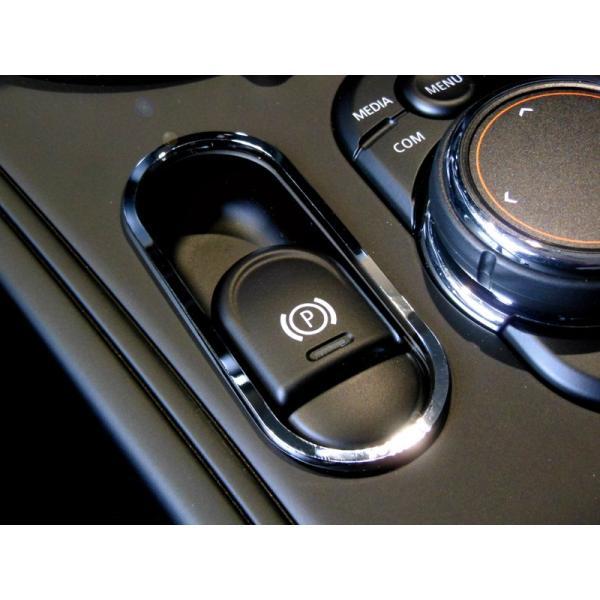 BMW MINI F60 パーキングスイッチリング (クローム) ミニ 内装パーツ|peyton