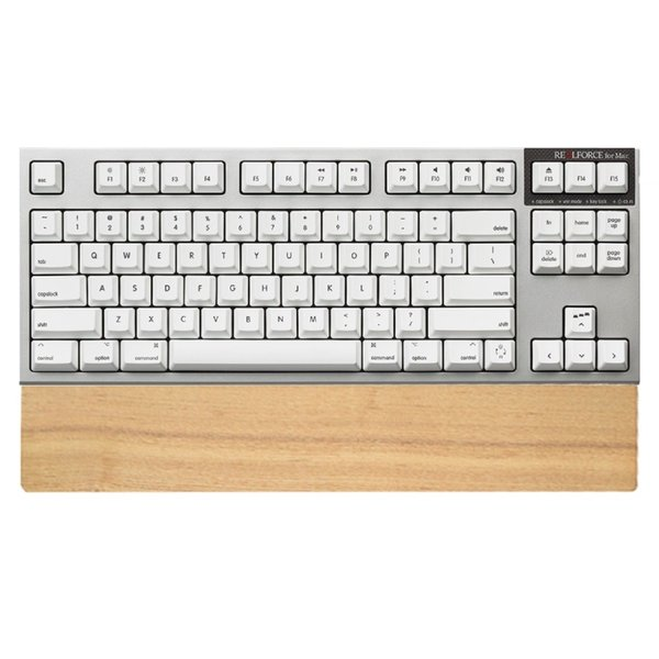 REALFORCE for Mac テンキーレス「PFU Limited Edition」英語配列/スーパーホワイト・パームレスト付