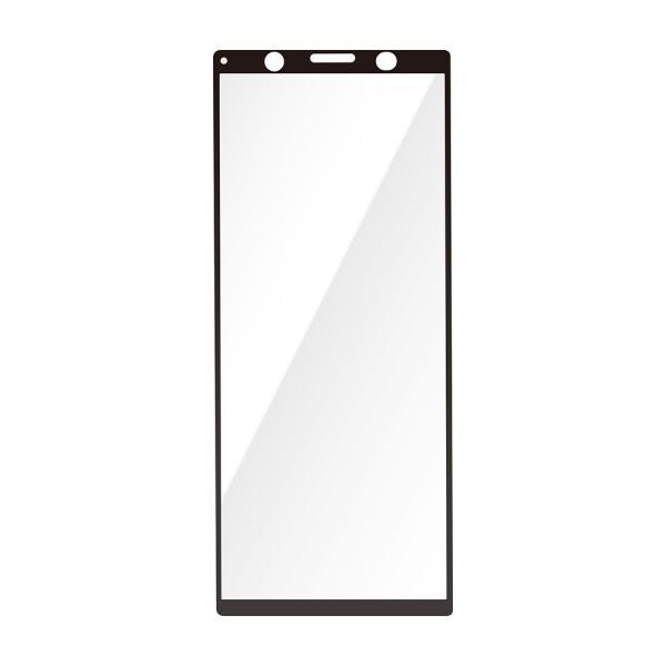 Xperia 5用 3D液晶全面保護ガラス スーパークリア PG-XP5GL01|pg-a|03