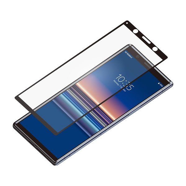 Xperia 5用 3D液晶全面保護ガラス アンチグレア PG-XP5GL02|pg-a|02