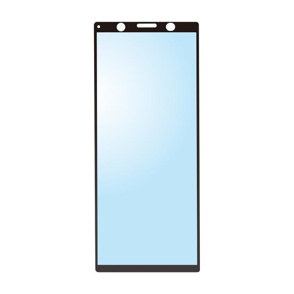 Xperia 5用 3D液晶全面保護ガラス ブルーライト/アンチグレア PG-XP5GL04 pg-a 03