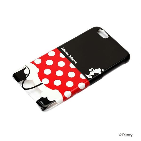 iPhone6Plus ハードケース ミニーマウス おしり PG-DCS966MNE|pg-a