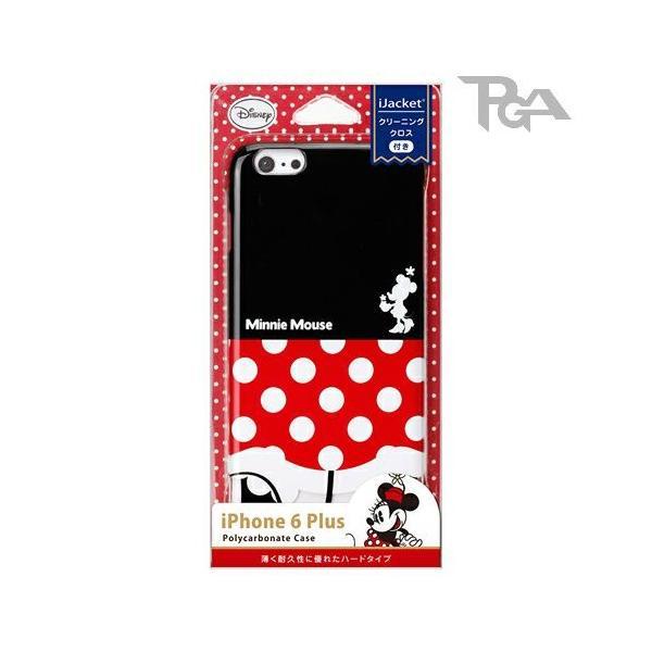 iPhone6Plus ハードケース ミニーマウス おしり PG-DCS966MNE|pg-a|02