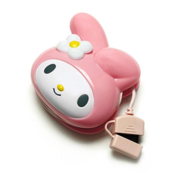 docomo FOMA/SoftBank 3G携帯電話用 サンリオキャラクター ダイカットAC充電器 マイメロディ  PG-MYMJU056FO|pg-a