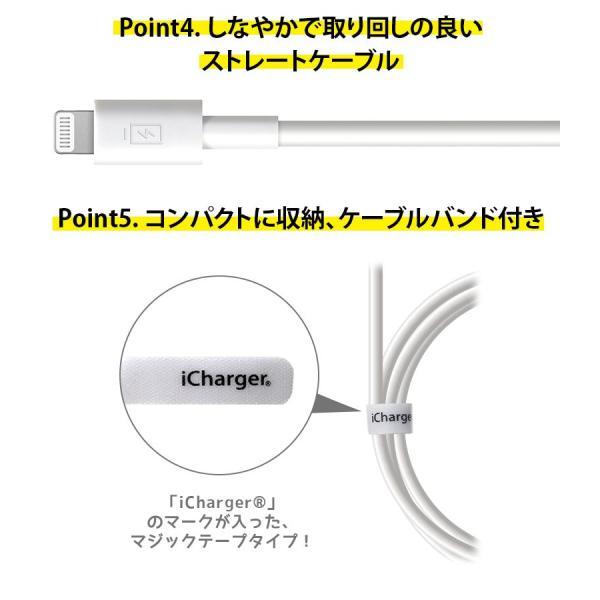 USB Type-C & Lightning USBケーブル 2m ホワイト/ストレート PG-LCC20M02WH|pg-a|04