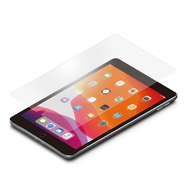 iPad 10.2インチ用 液晶保護ガラス アンチグレア PG-19PADGL02|pg-a|02