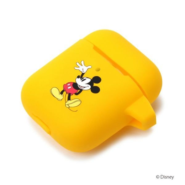 Air Pods充電ケース用 シリコンカバー [ミッキーマウス]
