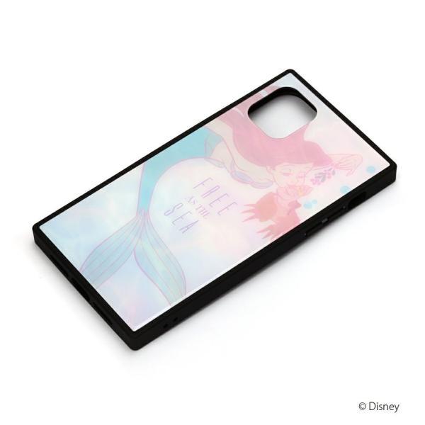iPhone 11用 ガラスハイブリッドケース [アリエル&セバスチャン]