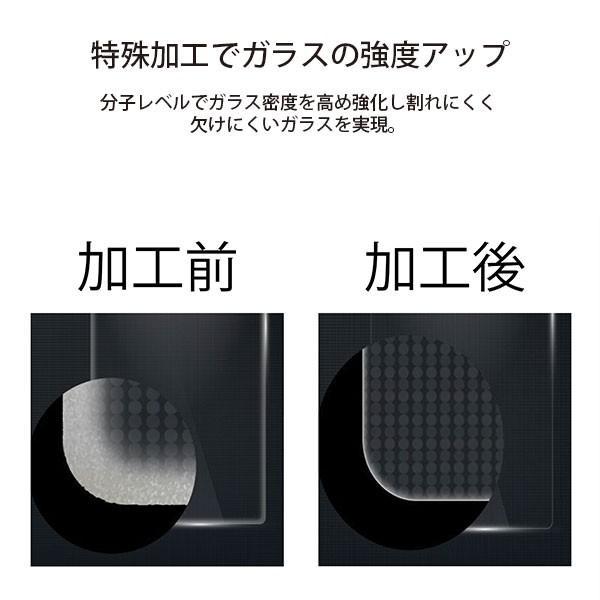 iPhone 11 Pro用 治具付き 3Dダブルストロングガラス ブルーライト低減|pg-a|05