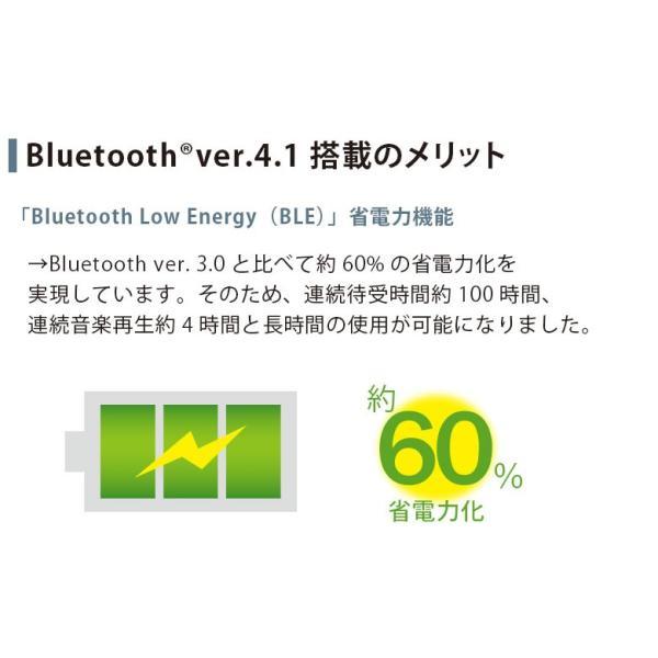 Bluetooth 4.1搭載 ワイヤレスイヤホン ステレオイヤホン イヤーサポート付き ブルートゥース pg-a 03