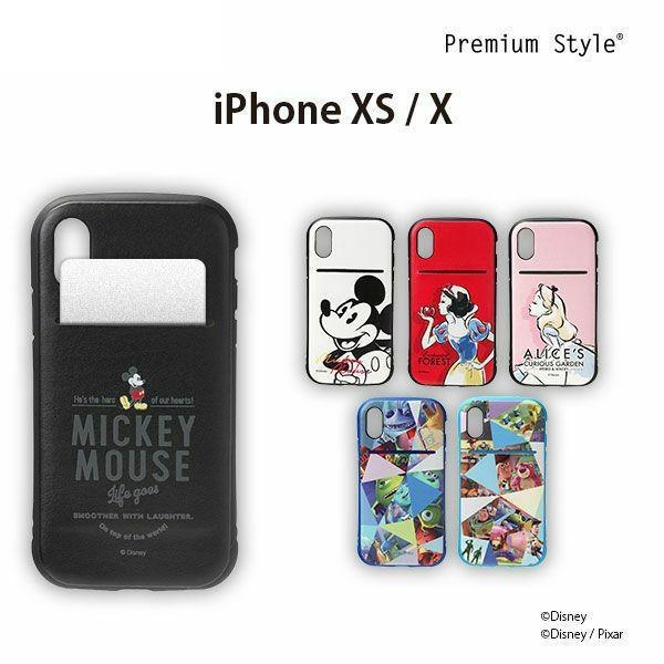 iPhone XR用 ディズニーキャラクター タフポケットケース
