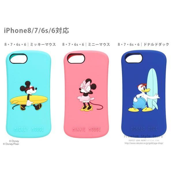 ディズニー iPhone X / iPhone8・iPhone7・iPhone6s・iPhone6 シリコンケース iJacket【ディズニー アイフォン シリコン キャラクター】 pg-a 06