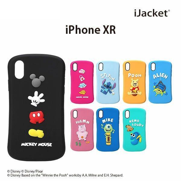 ディズニー iPhoneXR アイフォンXR シリコンケース