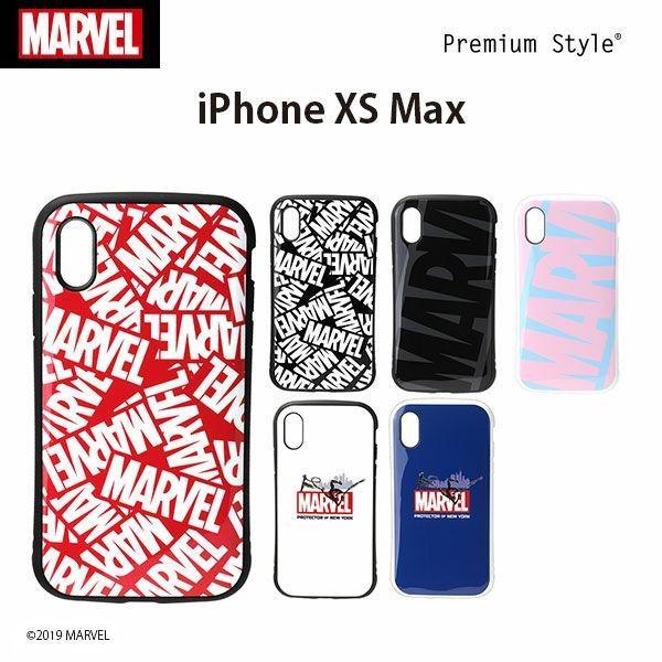 MARVEL マーベル iPhoneXSMax ハイブリッドタフケース