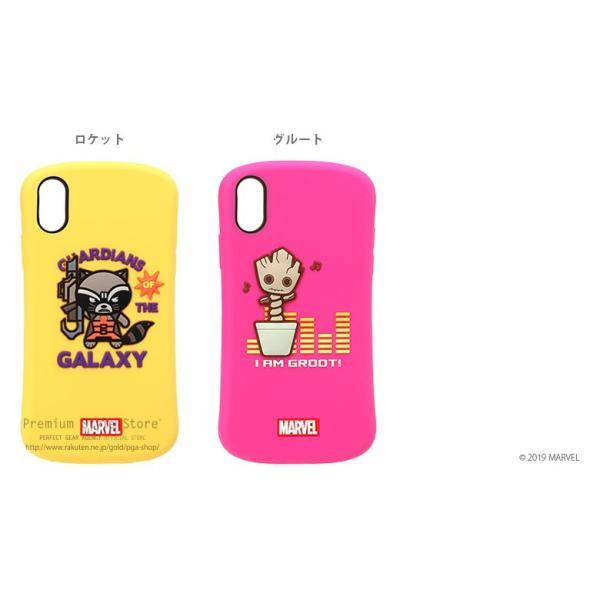 iPhone XR 用 MARVELキャラクター シリコンケース|pg-a|06