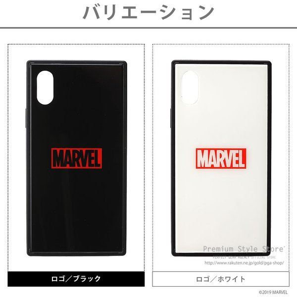 MARVEL マーベル iPhone XS/X用 ガラスハイブリッドケース【MARVELグッズ アイフォンX/XSケース アメコミ】|pg-a|06