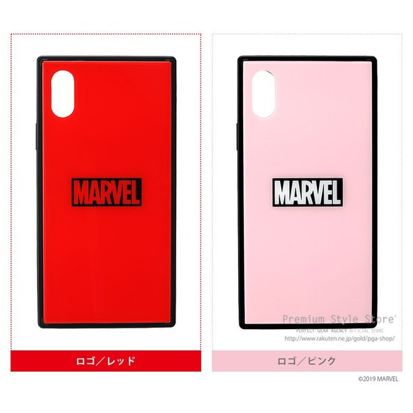 MARVEL マーベル iPhone XS/X用 ガラスハイブリッドケース【MARVELグッズ アイフォンX/XSケース アメコミ】|pg-a|07