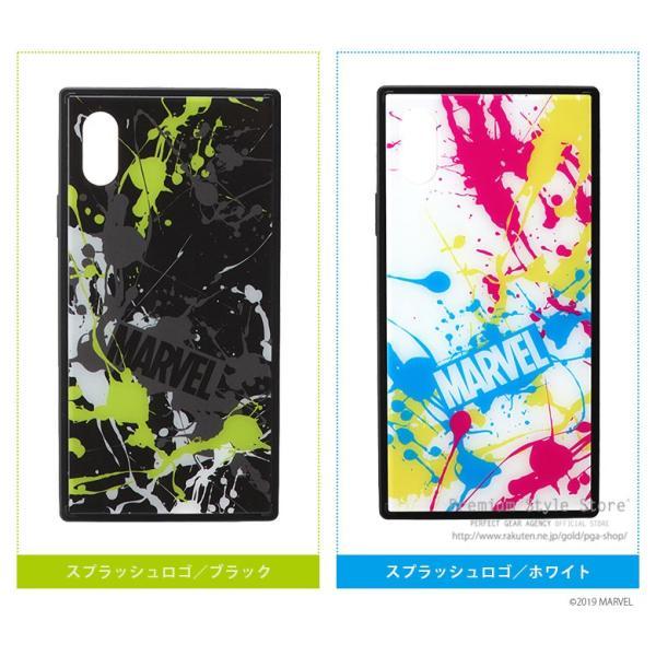 MARVEL マーベル iPhone XS/X用 ガラスハイブリッドケース【MARVELグッズ アイフォンX/XSケース アメコミ】|pg-a|08