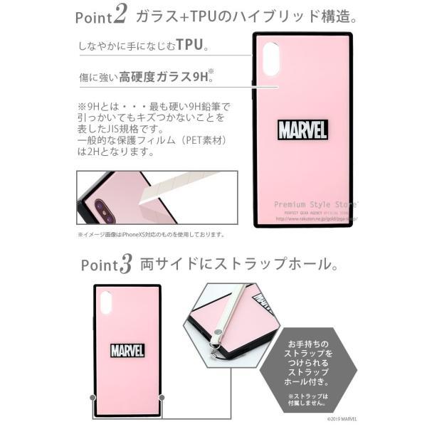 MARVEL マーベル iPhone XSMax用 ガラスハイブリッドケース|pg-a|03