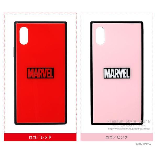 MARVEL マーベル iPhone XSMax用 ガラスハイブリッドケース|pg-a|07