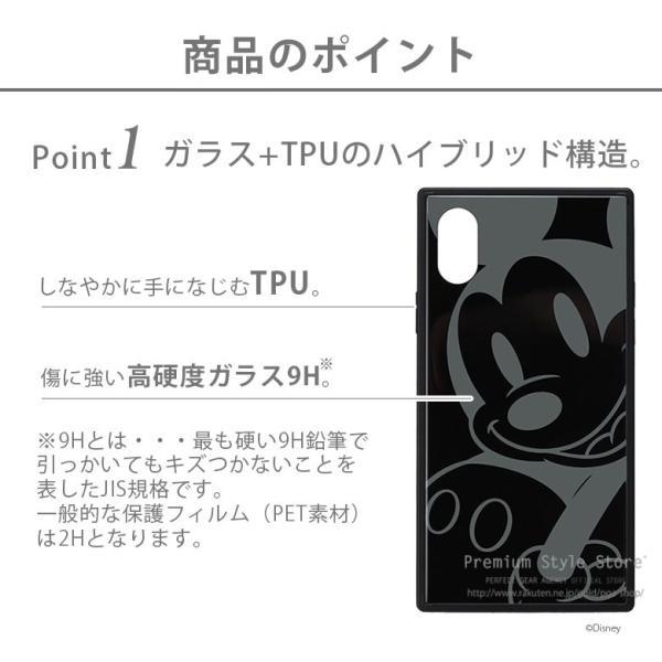 iPhone Xs/X用 ガラスハイブリッドケース|pg-a|02