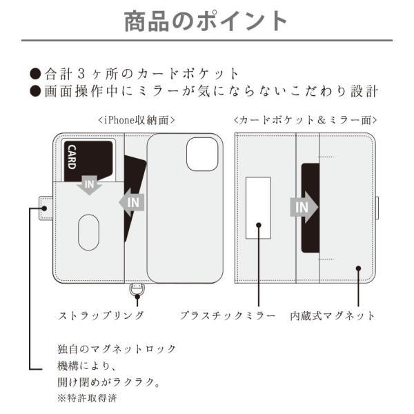 iPhone 11 Pro用 ダブルフリップカバー|pg-a|02