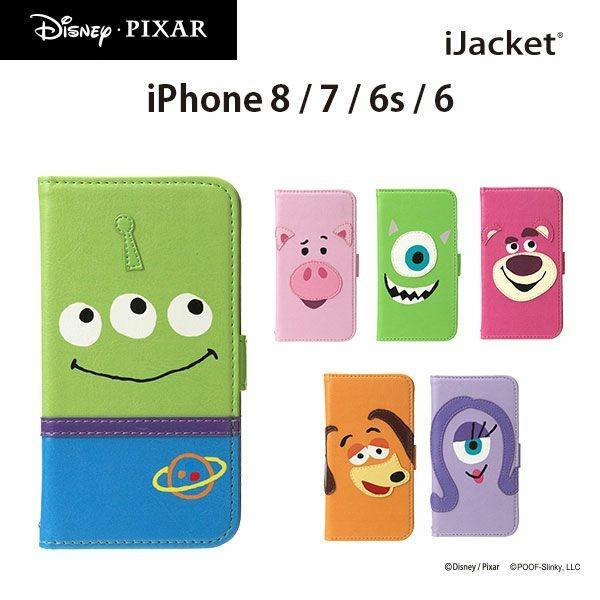 ディズニー iPhone8 iPhone7 iPhone6s iPhone6 ピクサーキャラクター PIXAR フリップカバーディズニー ピクサー 手帳|pg-a
