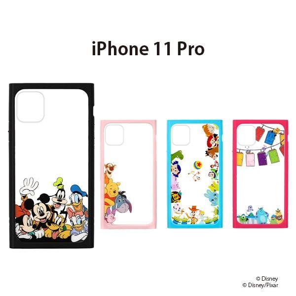 iPod Touch(第5/6/7世代)用 ガラスハイブリッドケース Disney