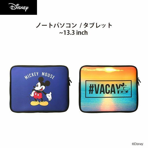 ディズニー パソコンケース PC・タブレット用インナーケース ミッキーマウス 軽量薄型 ノートパソコン PCケース  pg-a
