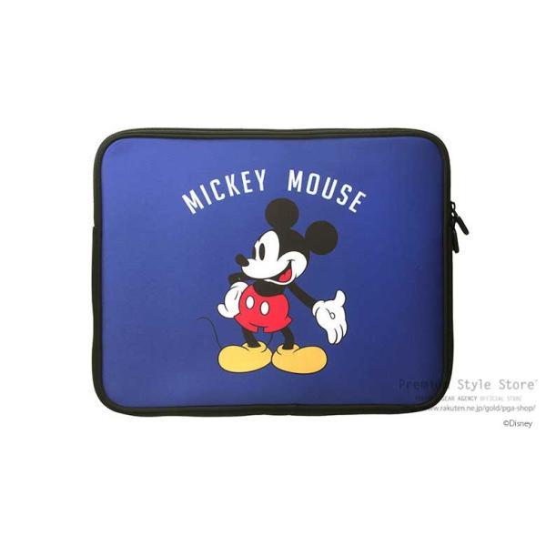 ディズニー パソコンケース PC・タブレット用インナーケース ミッキーマウス 軽量薄型 ノートパソコン PCケース  pg-a 05